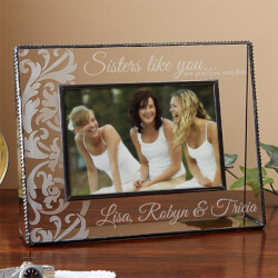 Personalized Glass Picture Frames..