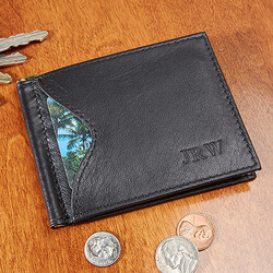 Personalized Mens Wallet - RFID..