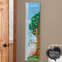Personalized Girls Growth Chart -..
