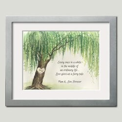 Personalized Framed Art - Willow..