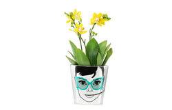 Flower Pot Large - Elegant Audrey
