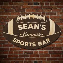 Football Fan Personalized Sports..