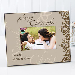 Personalized Couples Picture Frame..