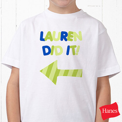 Personalized T-Shirt For Kids -..