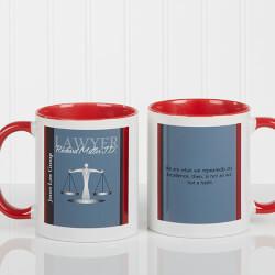 Personalized Lawyer Coffee Mugs -..