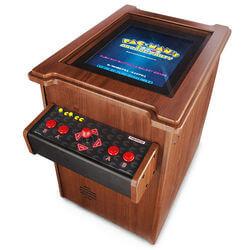 Arcade Table With Retro Games