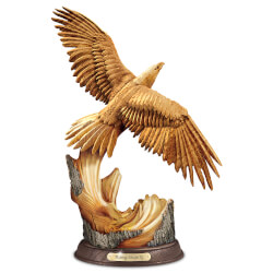 Rising Majesty Eagle Sculpture..