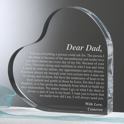 Personalized Heart Keepsake Gift..