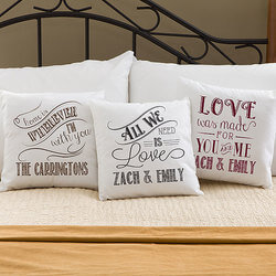 Personalized Throw Pillows -..