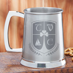 Personalized Tankard Beer Mug - My..