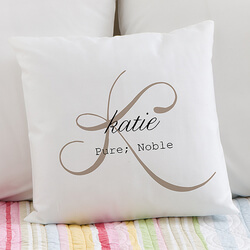 Personalized Throw Pillows - Name..