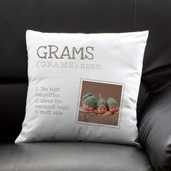 Personalized Photo Throw Pillow -..