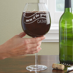Personalized Wine Glass - Whole..