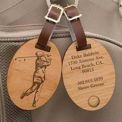 Personalized Golf Bag Tags -..