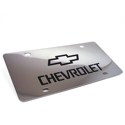 Personalized Chrome Plated License..