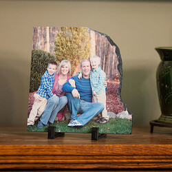 Photo Personalized Contoured Slate..
