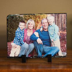 Photo Personalized Rectangle Slate..