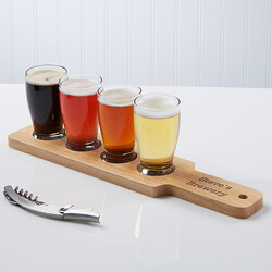 Personalized Beer Flight With 4..