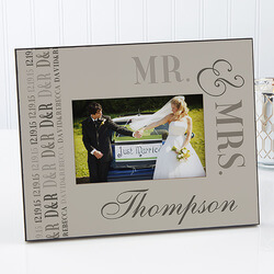 Personalized Wedding Picture..
