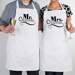 Personalized Wedding Aprons -..