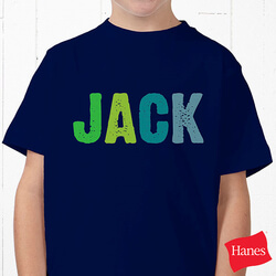Personalized Kids Name T-Shirt -..
