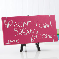 Personalized Canvas Prints -..