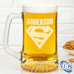 Personalized Superman Beer Mug -..