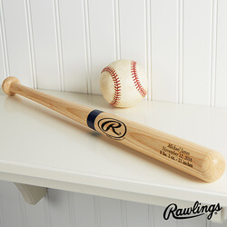 Personalized Wooden Baseball Bat -..