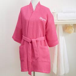 Custom Embroidered Kimono Robe