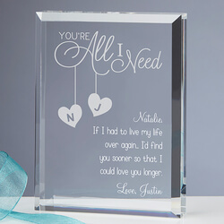 Personalized Romantic Keepsake -..