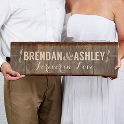 Personalized Basswood Wall Art..