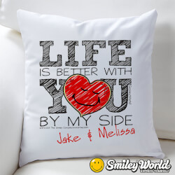 Personalized Love Throw Pillow -..