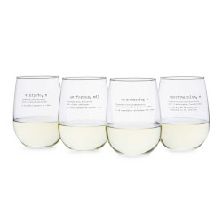 Life By Definition Wine Glasses -..