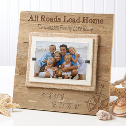 Personalized Reclaimed Beachwood..