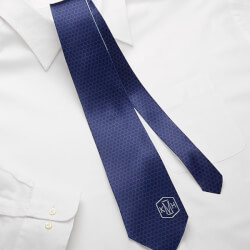 Personalized Mens Tie - Monogram