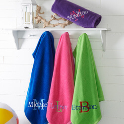 Personalized 35x60 Beach Towel -..