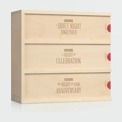 Three Nights - Wedding Wine Box