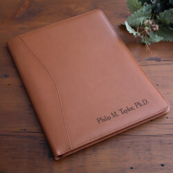 Personalized Executive Leather..