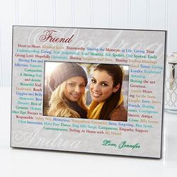 Personalized Friends Photo Frame -..