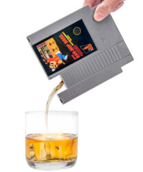 Game Cartridge Flasks