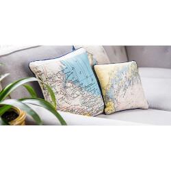 Nautical Coordinate Pillows And..