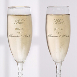 Personalized Crystal Wedding..
