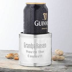 Engraved Silver Beverage Cooler -..