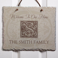 Personalized Slate Sign - Family..