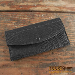 Amish Crafted Black Shark Skin..