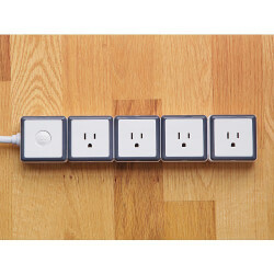 STACK: 4 Outlet Modular Surge..