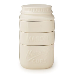 Stackable Mason Jar Measuring Cups