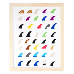 Surfboard Fins Print