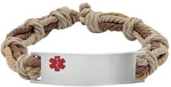Medical ID - Adjustable Brown Rope..