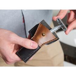 Range Leather Co.: Safety Razor Case
